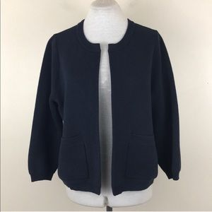 Vineyard Vines Blue Open Knit Cardigan Sweater